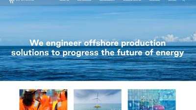 BW Offshore start page
